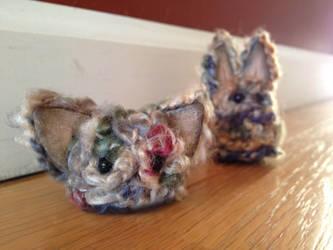 Short Dust Bunny - FOR SALE by Mel2DaIssa