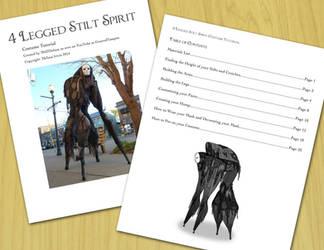 4 Legged Stilt Costume Tutorial - ON SALE by Mel2DaIssa