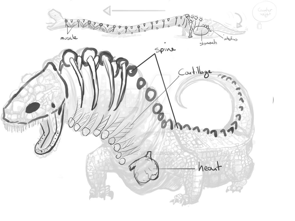 Marise's pet (Internal Structure) by Olivier-Miller