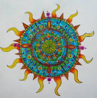 Mandala by wiitii