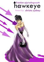 Kate Bishop - Hawkeye by christasyd