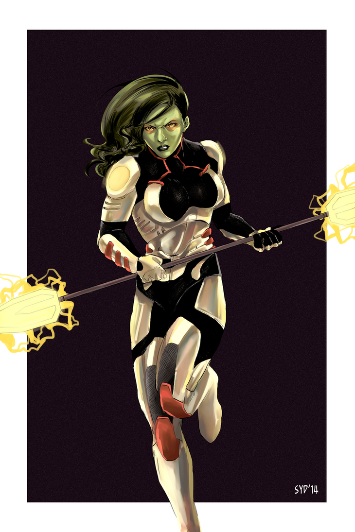 GAMORA by christasyd