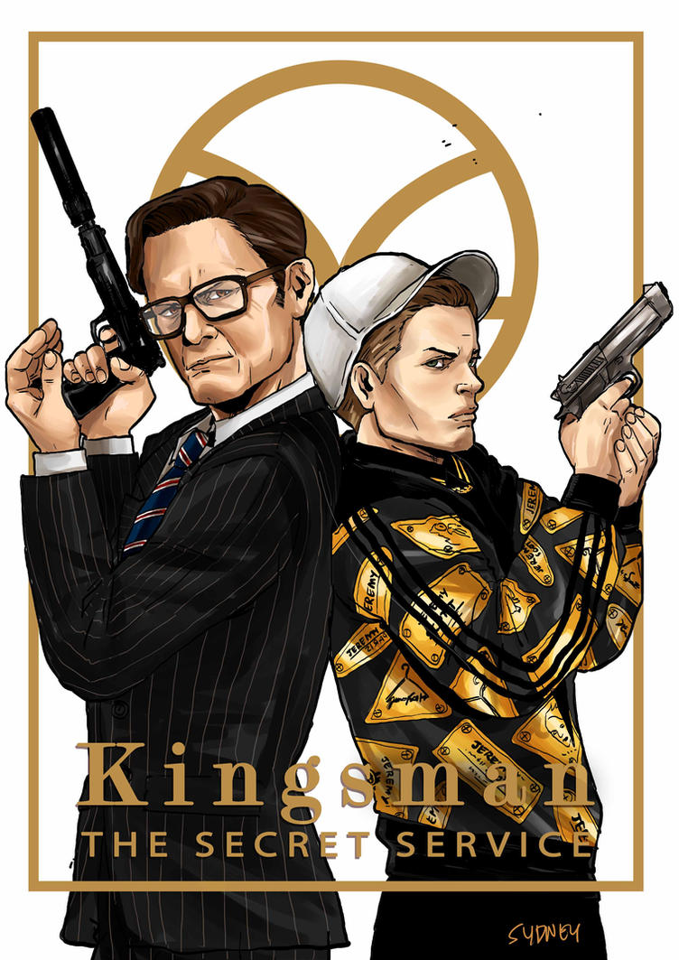 Harry and Eggsy by christasyd