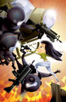 Epic Kill pin-up by James Turner