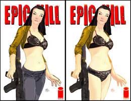 Epic Kill sexy bra cover by Raffaele-Ienco