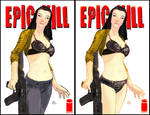 Epic Kill sexy bra cover