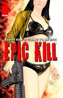 Epic Kill #1 variant cover by Raffaele-Ienco