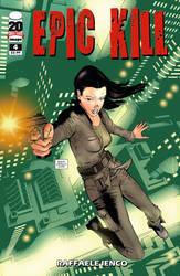 Epic Kill #4 cover by Raffaele-Ienco