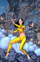 Epic Kill issue six by Raffaele-Ienco