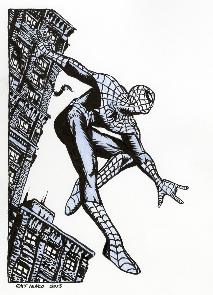 Spider-Man ... 85 bucks by Raffaele-Ienco