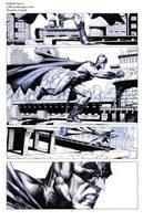 Batman pencil sample01 by Raffaele-Ienco