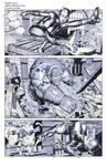 Killer Croc Catwoman pencils 02