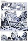Injustice Flash Wonder Woman Batman pencils02