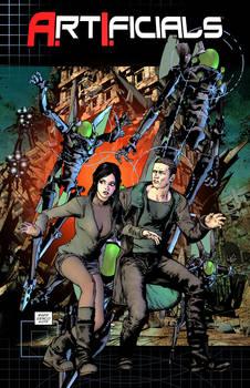 Artificials comic book cover1