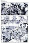 Wolverine Deadpool Domino pencils04