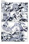 Wolverine Deadpool Domino pencils03