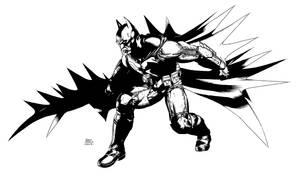 Batman Arkham Origins sketch01 by Raffaele-Ienco