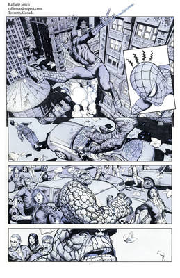 Spider-Man and The Thing 01