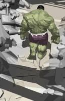 Hulk! by Raffaele-Ienco