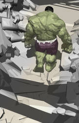 Hulk! by Raffaele-Ienco