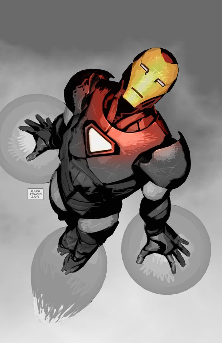 Iron Man! by Raffaele-Ienco