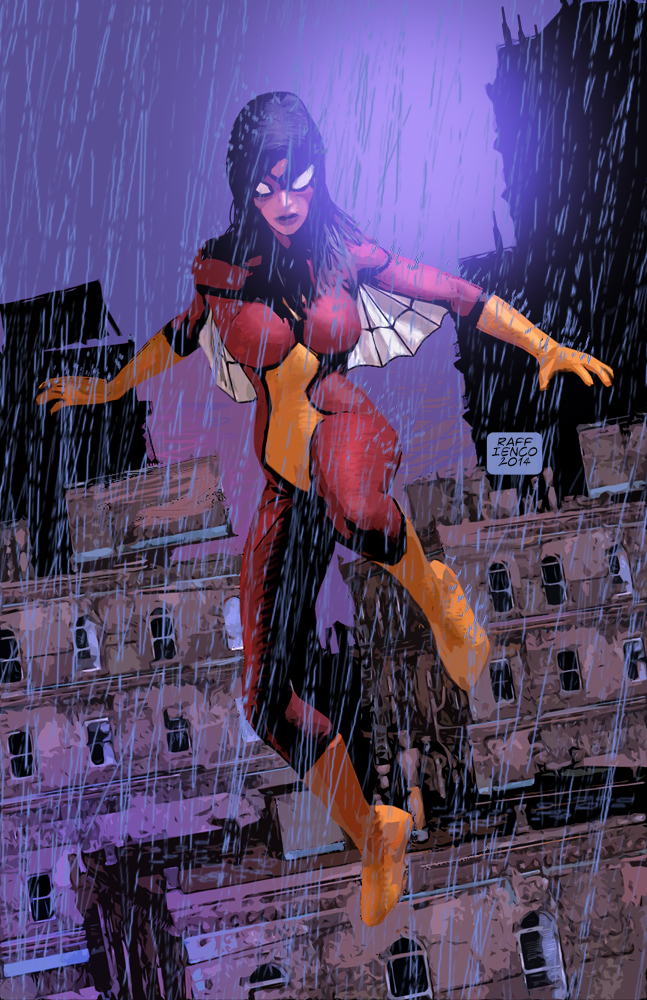 Spider-Woman1 by Raffaele-Ienco