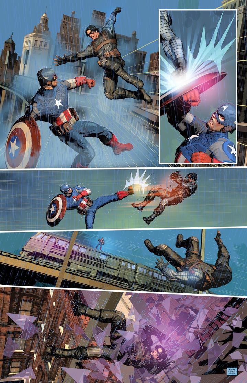 raff ienco Winter Soldier Captain America color sa by Raffaele-Ienco