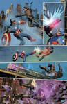 raff ienco Winter Soldier Captain America color sa