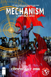 Mechanism coming from Top Cow and Image Comics by Raffaele-Ienco