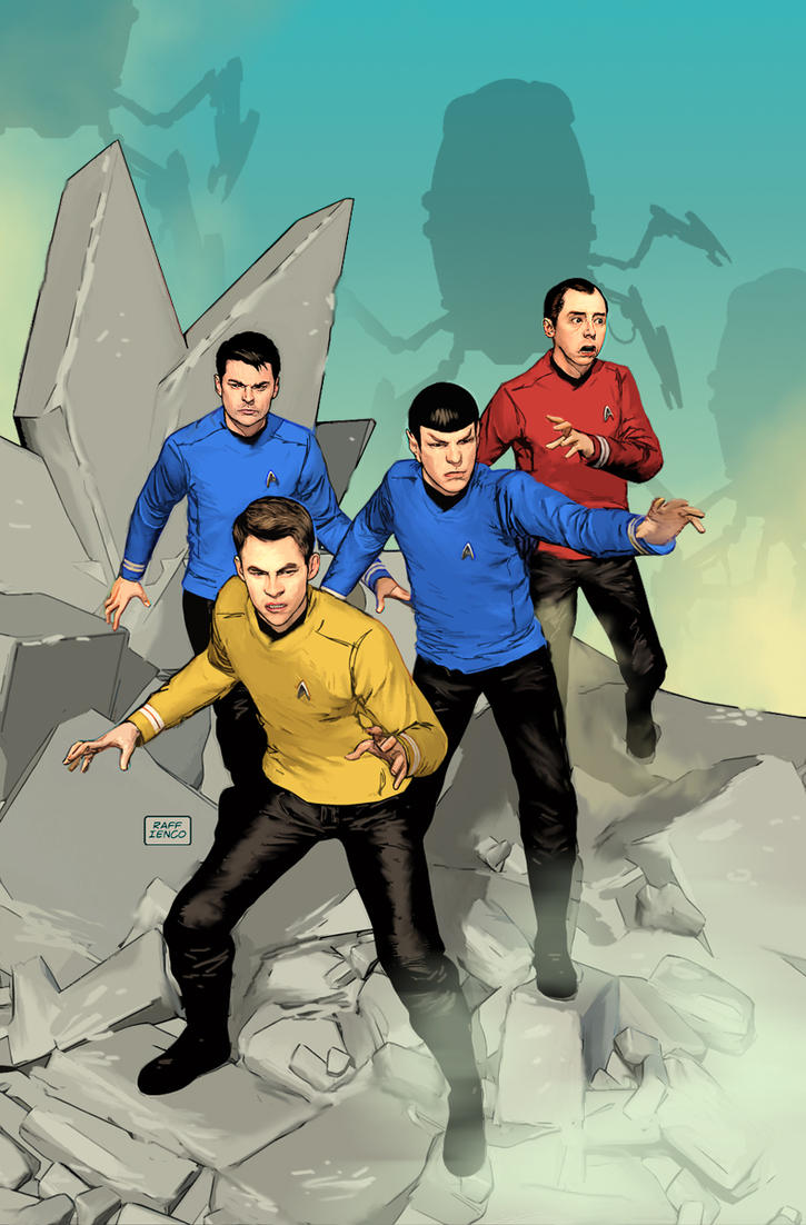 Star Trek cover fan art by Raffaele-Ienco