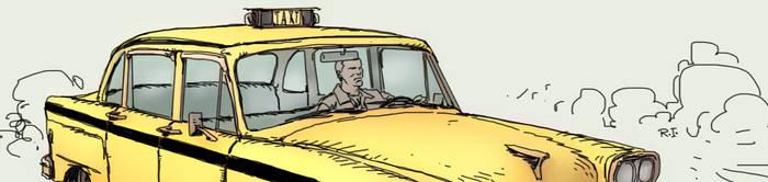 Taxi driver by Raffaele-Ienco