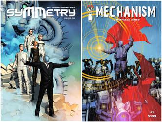 Symmetry Mechanism covers by Raff Ienco by Raffaele-Ienco