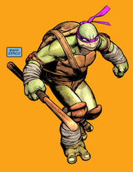 Ninja Turtle by Raffaele Ienco by Raffaele-Ienco