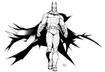 Batman sketch Raff Ienco by Raffaele-Ienco
