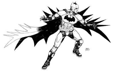 Batman sketch11 by Raffaele-Ienco