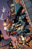 Batman Sins of the Father issue 6 cover by Raffaele-Ienco