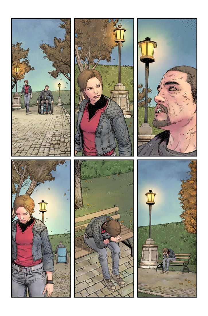 Stairway issue2page07 by Raffaele-Ienco