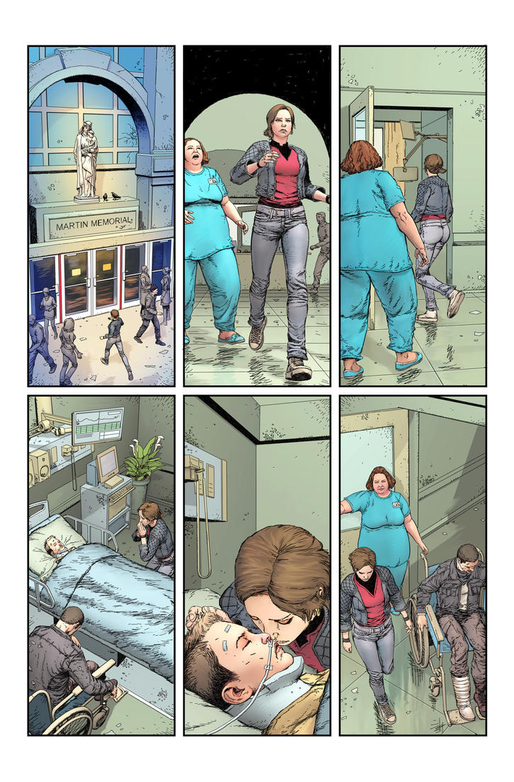 Stairway issue2page06 by Raffaele-Ienco