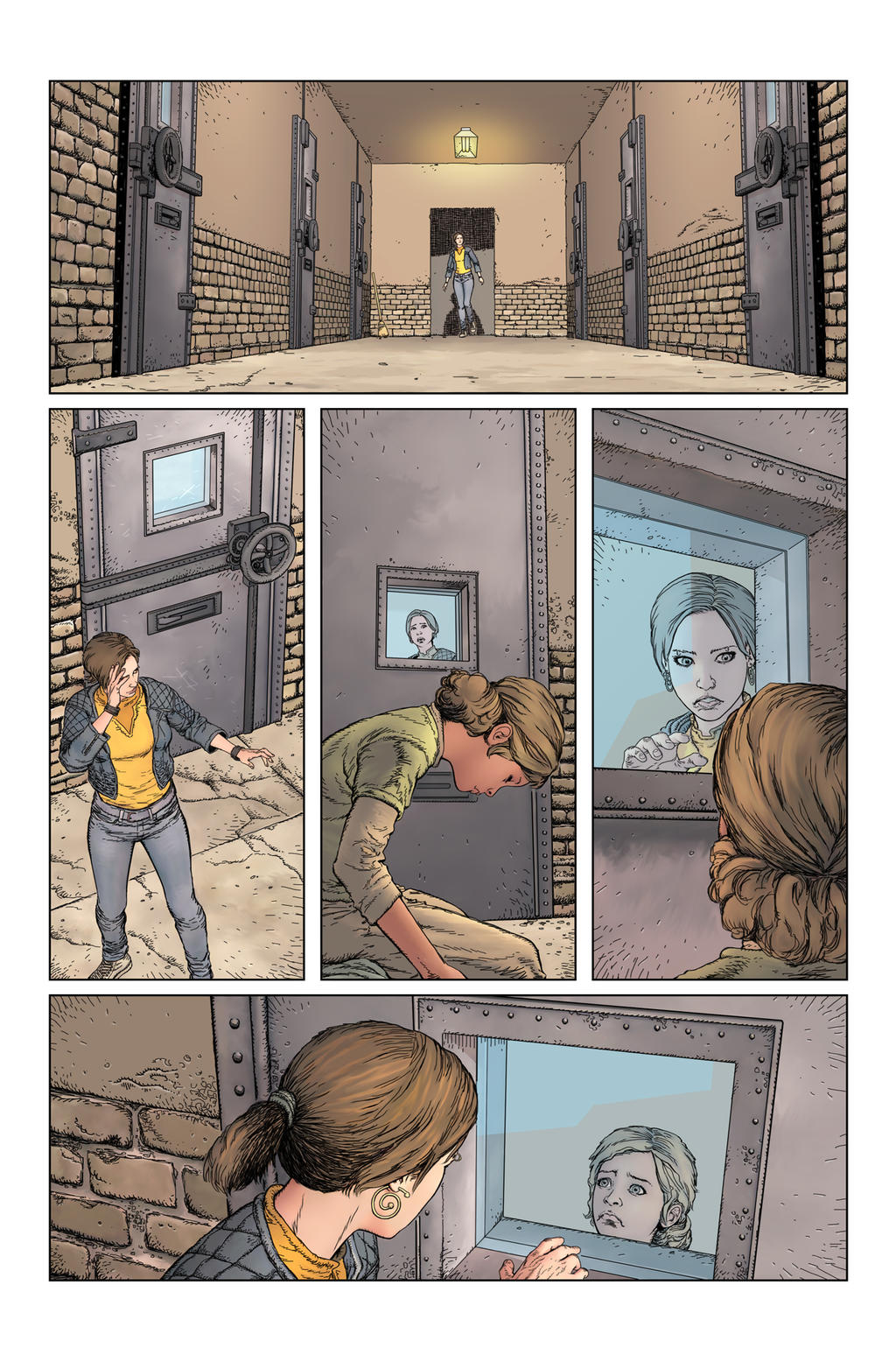 Stairway issue2page21 by Raffaele-Ienco