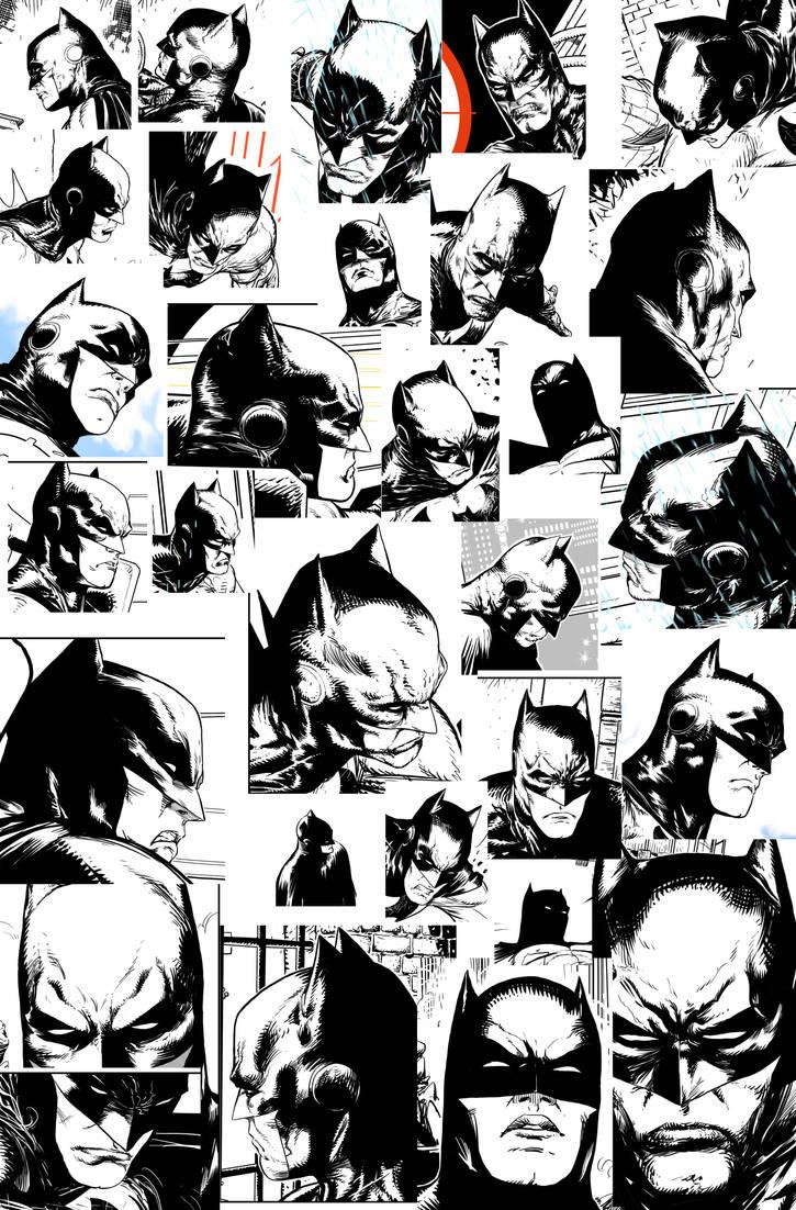 Bat Heads by Raffaele-Ienco