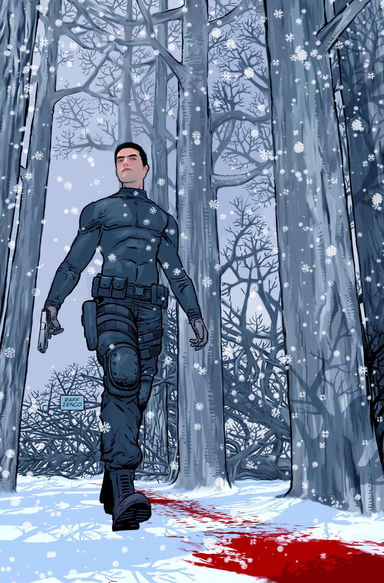 James Bond cover by Raffaele Ienco by Raffaele-Ienco