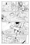 Postal S2 issue01 page05 linework by Raffaele-Ienco