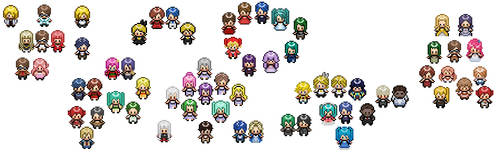[Sprite Mass Post] Evillious Chronicles