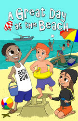 A Great Day At The Beach Bk Cover