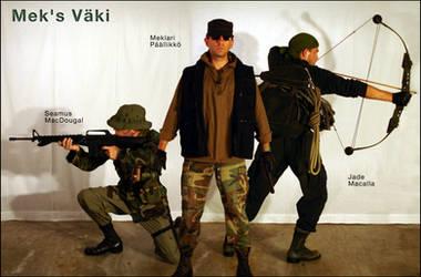 Mek's Vaki - Trailer Poster by jademacalla