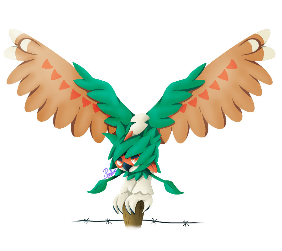 decidueye and chestnaught trying - photo #20