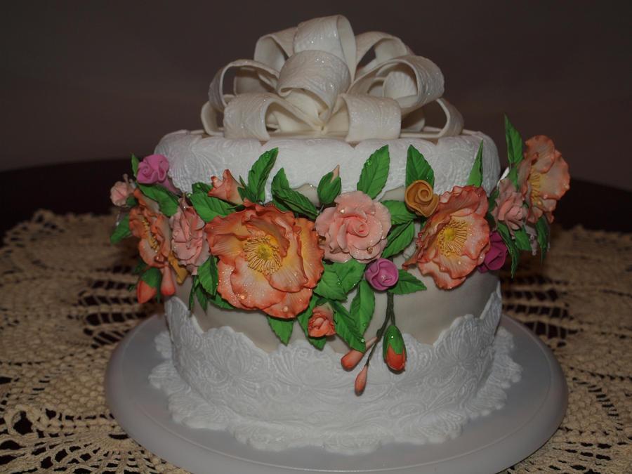 Hat Box Birthday Cake by lenslady