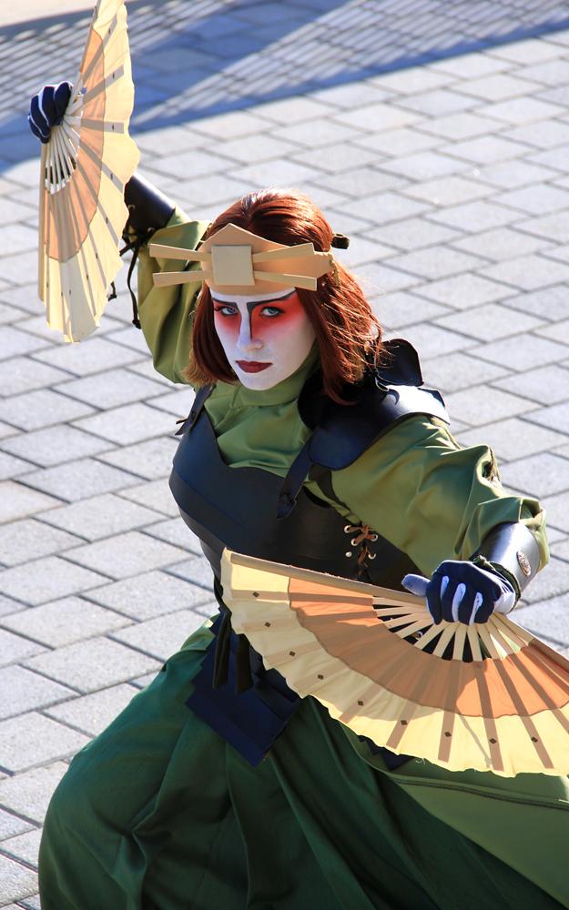 Kyoshi Warrior Suki by MelodiousMellophone