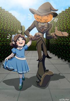 SOBM Halloween Challenge (Day 17: Scarecrow)