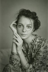 Katia portrate by seredin